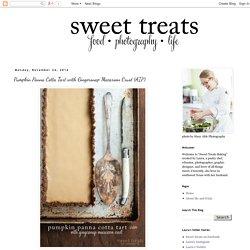 food, photography, life: Pumpkin Panna Cotta Tart with Gingersnap Macaroon Crust (AIP)