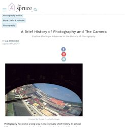 Photography: A Brief History and Timeline