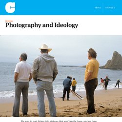Photography and Ideology