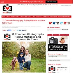 Common Photography Posing Mistakes and Fixes