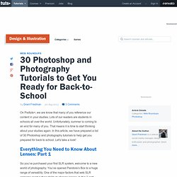 30 Photoshop and Photography Tutorials