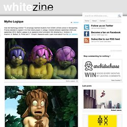 Mytho Logique & Whitezine | Design Graphic & Photography Inspirations