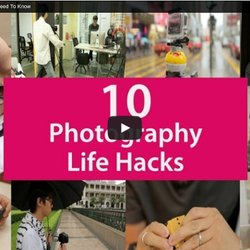▶ 10 Photography Life Hacks You Need To Know