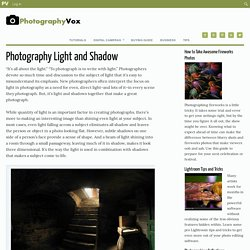 Photography Light and Shadow