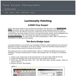 Tony Kuyper Photography—Luminosity Painting