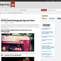 20 Very Useful Photography Tips And Tricks
