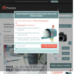 70+ Best Photography Marketing Tools