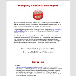 Photography Masterclass - Learn Digital Photography The Smart Way