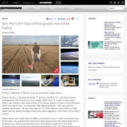 One Man's DIY Space Photography Has NASA Calling