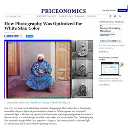 How Photography Was Optimized for White Skin Color