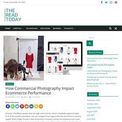 How Commercial Photography Impact Ecommerce Performance