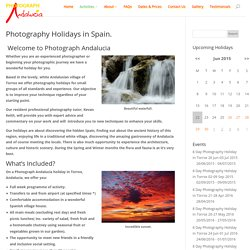 Photography Holidays in Spain. - Photograph Andalucia