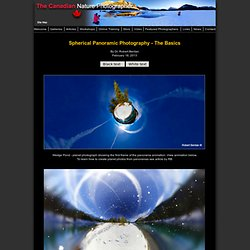 Spherical Panoramic Photography - The Canadian Nature Photographer