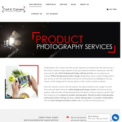 White Background Product Imaging