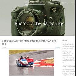 photography ramblings