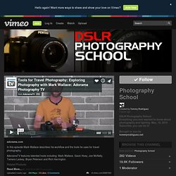 Photography School on Vimeo