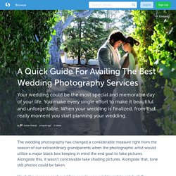 A Quick Guide For Availing The Best Wedding Photography Services in Northamptonshire
