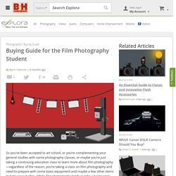 Photography Student Buying Guide
