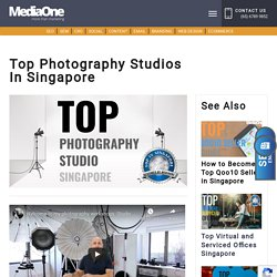 Top Photography Studios in Singapore
