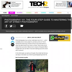 Photography 101: The four-step guide to mastering the art of street photography- Technology News, Firstpost