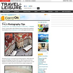 T+L's Photography Tips - Carry On