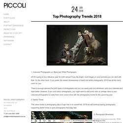 Top Photography Trends 2018 ‹ Piccoli Photography