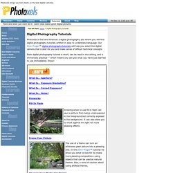 Digital Photography Tutorials - Photoxels