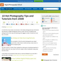 10 Hot Photography Tips and Tutorials from 2008