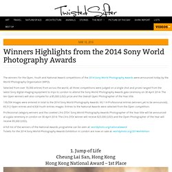 Winners Highlights from the 2014 Sony World Photography Awards