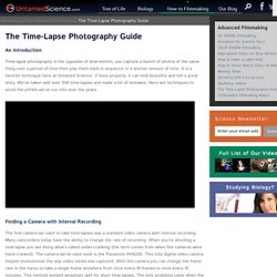 The Time-Lapse Photography Guide