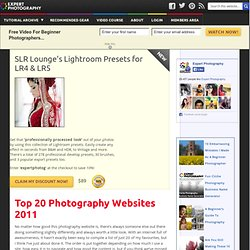 Top 20 Photography Websites