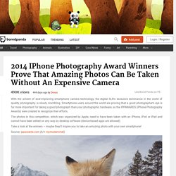 2014 iPhone Photography Award Winners Prove That Amazing Photos Can Be Taken Without An Expensive Camera