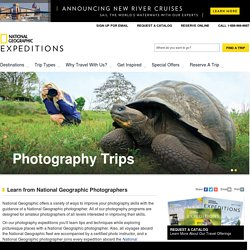 Photography Workshops, Tours, and Trips