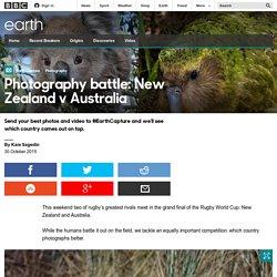 Earth - Photography battle: New Zealand v Australia