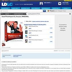 Ulead PhotoImpact XL (français, WINDOWS) (PIM00065) : achat / vente Logiciel graphisme & Photo sur ldlc