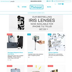 The Photojojo Store! - the Most Awesome Photo Gifts and Gear for Photographers - StumbleUpon