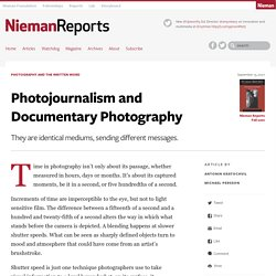 Photojournalism and Documentary Photography - Nieman Reports