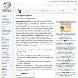 Photojournalism - Wikipedia