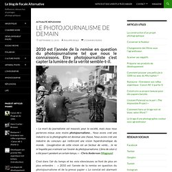L'avenir du photojournalisme et du reportage photo