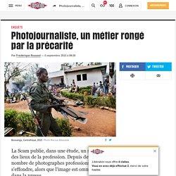 Photojournaliste, un métier rongé par la précarité