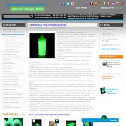 PEINTURES PHOSPHORESCENTES - Phosphorescent