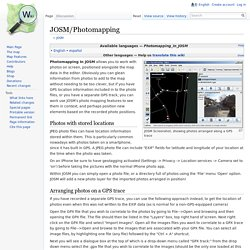 JOSM/Photomapping