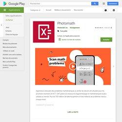 Photomath - Aplicaciones en Google Play