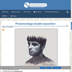 Photomontage double exposition