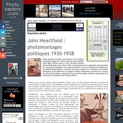 John Heartfield : photomontages politiques 1930-1938, exposition photo par John HEARTFIELD, Musée d'art moderne et contemporain de Strasbourg