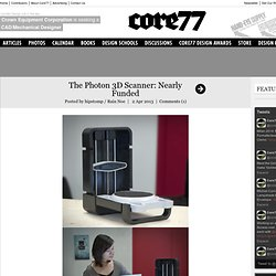 The Photon 3D Scanner: Nearly Funded
