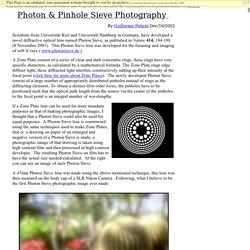 Photon Sieve