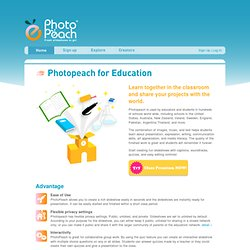Photopeach for Education