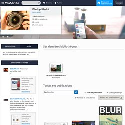 Photophile-toi - Page profil YouScribe