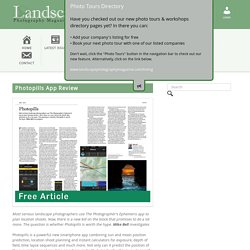 Photopills App Review